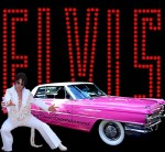 Elvis Impersonator Rick Torres and his pink Caddy