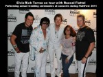 Bay Area Elvis Rick Torres on Tour with Rascal Flatts 2011