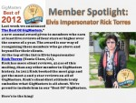 Bay Area Elvis Impersonator Rick Torres best of 2012 GigMasters