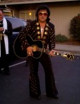 Bay Area Elvis Impersonator Rick Torres at haloween