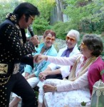 Bay Area Elvis Rick Torres  Makes appearance in sonoma
