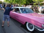 Bay Area Elvis Rick Torres  pink caddy cruise Danville