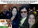 Bay Area Elvis Rick Torres at premiere of Doggie B