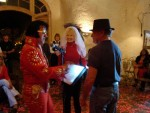 Bay Area Elvis Rick Torres performing Wedding Renewal Ceremony