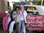 Bay Area Elvis Rick Torres wishes Happy 102 Birthday for Sylvia
