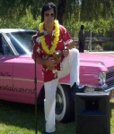 Bay Area's top Elvis Impersonator Rick Torres Aloha Show