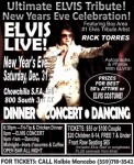 Bay Area Elvis Rick Torres at New Years Eve