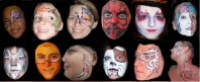 Becoming Faces - Temporary Tattoo Artist in Tampa, Florida
