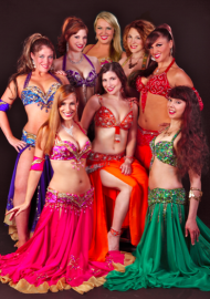 Belly Dance Mirage & Tropical Fire Hula Dancers