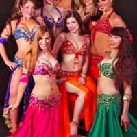 Belly Dance Mirage & Tropical Fire Hula Dancers - Greek Entertainment in ,