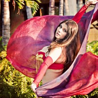 Belly Hip Moves with Yamile - Belly Dancer / Princess Party in Clearwater, Florida