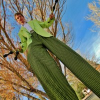 Ben Heath Entertainment - Stilt Walker in Santa Fe, New Mexico