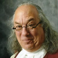 Benjamin Franklin by Barry Stevens - Look-Alike in Alexandria, Virginia