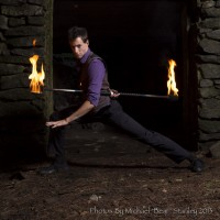 Benjamin Reynolds - Fire Dancer in Worcester, Massachusetts