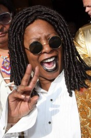 Bernadottae Larson as Whoopi Goldberg