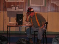 Bert Flynn (Chicken Farmer, Maine) - Emcee in Fairhaven, Massachusetts