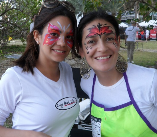 Face Painting at Taste of Brickell 2011