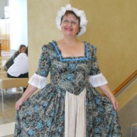 Betsy Ross - Historical Character in ,