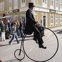 Bicyclists for Hire - Balancing Act in Seymour, Indiana