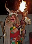 Pagan Shaman with fire magic