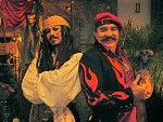 Carlos Caliente and a pirate friend