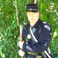 Bill Foley, Living History - Civil War Reenactment in ,