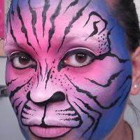 BLACK CAT Face Painting - Face Painter in Dover, Delaware