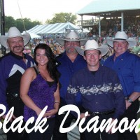 Black Diamond - Wedding Band in Waterloo, Iowa