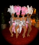 Las Vegas Showgirls red carpet