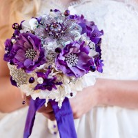 Blue Petyl Bouquets - Wedding Florist in ,