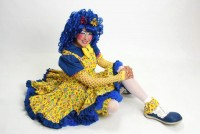 BLUEtiful the Clown - Costumed Character in San Diego, California