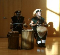 BMS African Drummers - World Music in Miami Beach, Florida