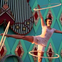 Bobbi Dulaney & Inner Orbit Performance - Trapeze Artist in Anchorage, Alaska