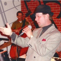Bobby Barron and his swing thing band - Crooner in Visalia, California