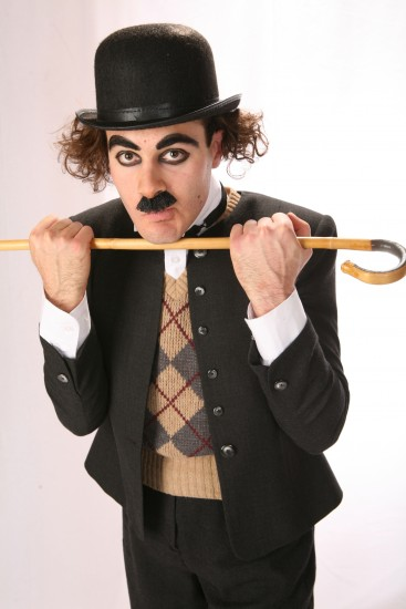 Charlie Chaplin Impersonator.
