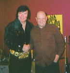 Fan with Elvis of Boston