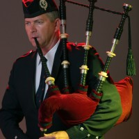 BRAVEHEART Bagpiper Eric Rigler - Celtic Music in Garden Grove, California