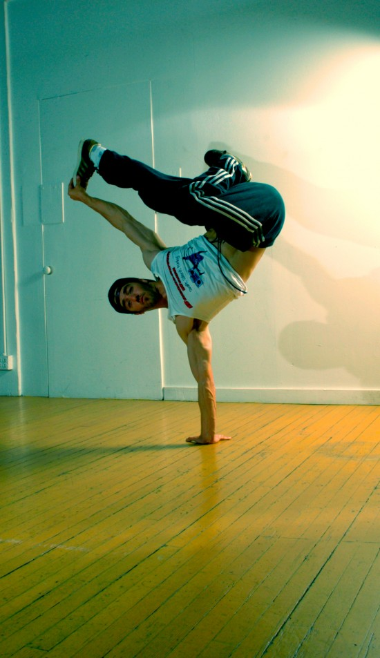 B-Boy Freeze