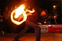 Brendon Hebert - Fire Dancer in Phoenix, Arizona