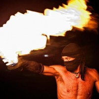 Brian Roughton - Fire Dancer in Austin, Texas