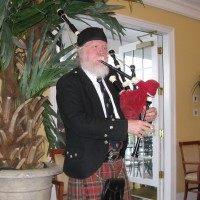 Bruce C. Wright - Bagpiper in New Bern, North Carolina