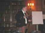 Lecture on Piping at Duke University - Playing Small Pipes