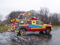 Bubble Truck - Balloon Twister in New Albany, Indiana