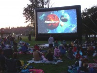 Buckeye Outdoor Cinema - Inflatable Movie Screen Rentals in Columbus, Ohio