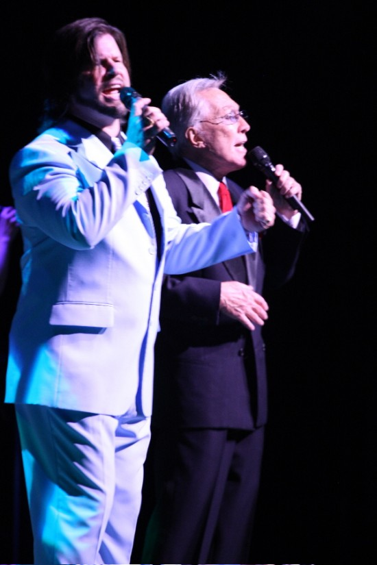 Performing with Andy Williams