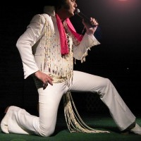Butch Dicus - The King of Hearts - Elvis Impersonator in Sulphur, Louisiana