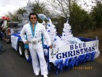 BLUE CHRISTMAS FLOAT