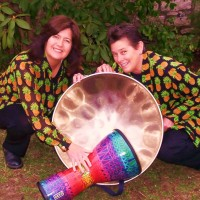 Calypso Bluz tropical steel drum island duo - World Music in Topeka, Kansas