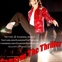 Cameron The Thriller - 1980s Era Entertainment in Tucson, Arizona