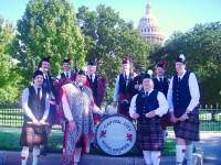 Capitol City Highlanders Pipe Band - World Music in Georgetown, Texas